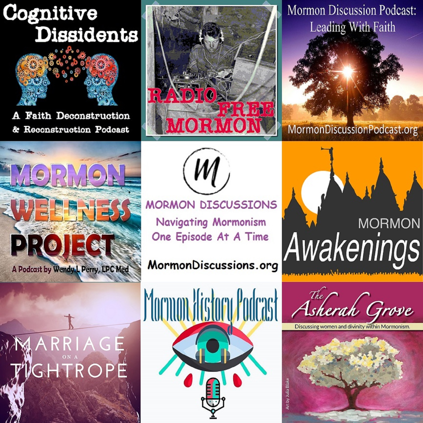 Mormon Discussions Podcasts - Full Lineup